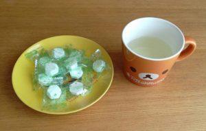 食物繊維水とブドウ糖