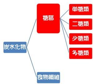 炭水化物分類