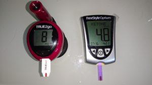 血糖値81 ケトン4.8