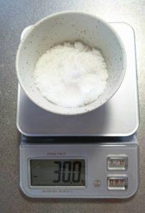 白砂糖30g